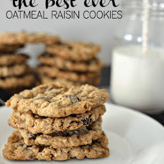 the Best Ever Oatmeal Cookies.