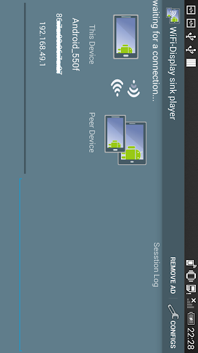 WiFi-Display miracast sink