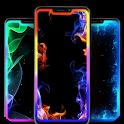 Neon Edge Lighting Live Wallpapers icon