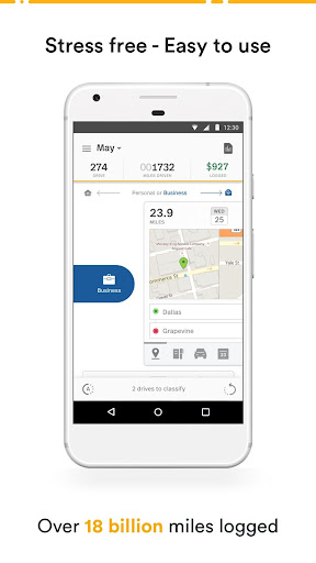 Mileage Tracker by MileIQ screenshot
