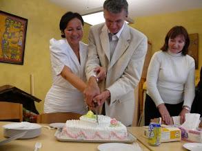 Photo: Свадебный торт - Huwelijkstaart