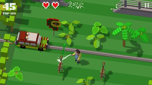 Jurassic Hopper: Crossy Dinosaur Shooter Game 1.2 de.gamequotes.net 4