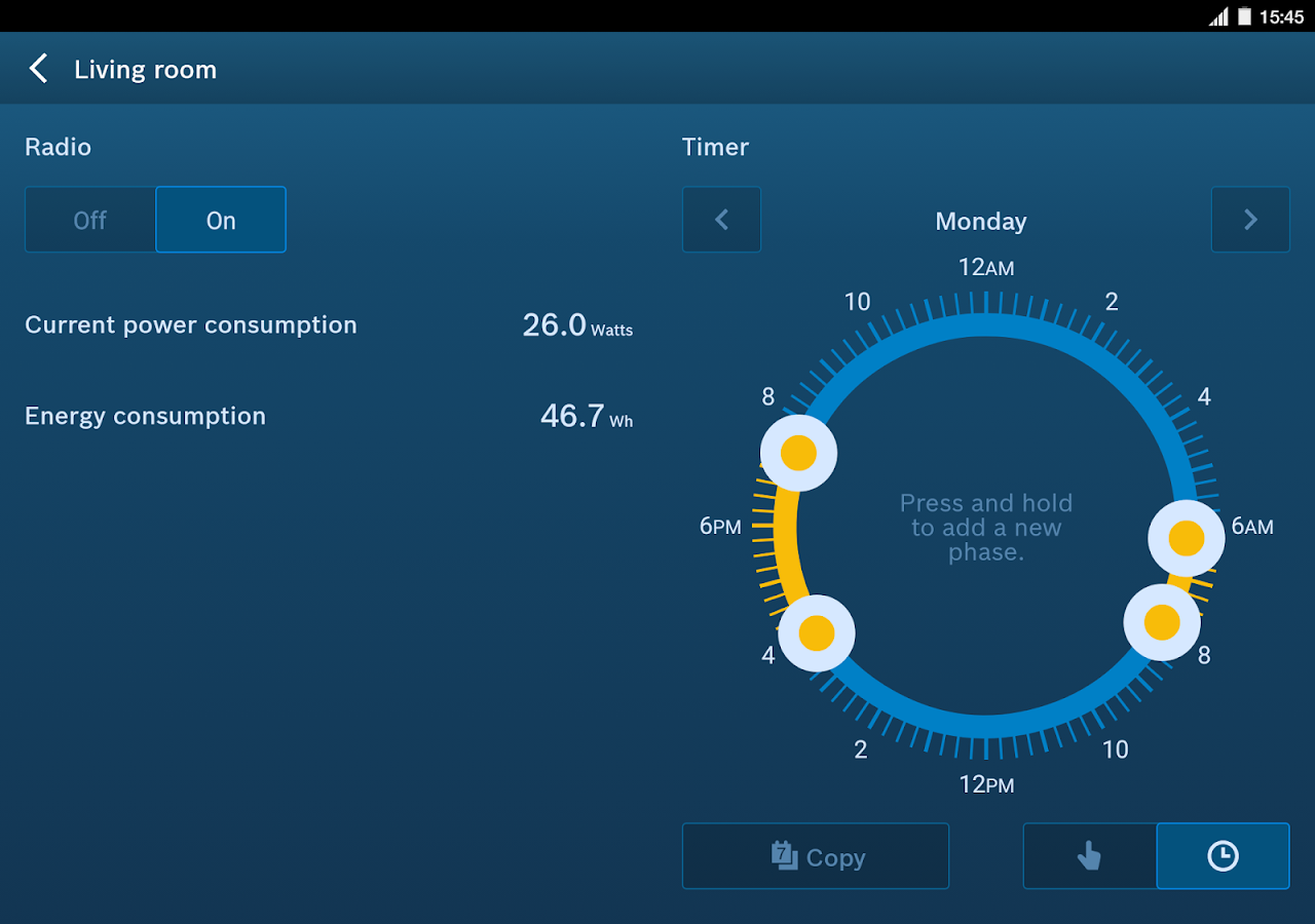 Bosch Smart Home – Screenshot