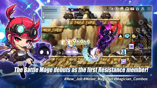Télécharger MapleStory M - Open World MMORPG mod apk screenshots 1