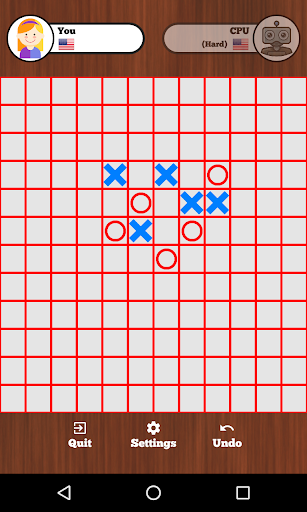 5 in a row online - Tic Tac Toe  screenshots 2