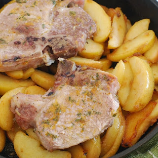1 Skillet Pork Chops and Apples
