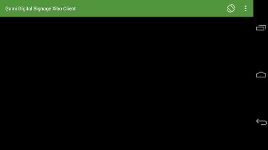 Gami Digital Signage Client - náhled