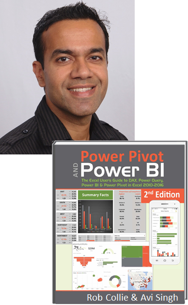 Avi Singh, Power BI Author