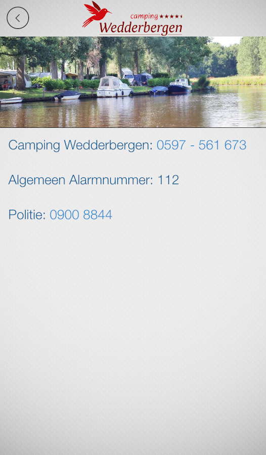 Camping Wedderbergen- screenshot