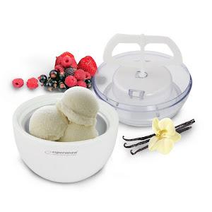 Aparat pentru preparat inghetata Vanilla, vas 0.6l, timp preparare 15-30 min, alb