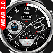 Royal Steel Watch Face