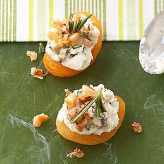 Blue Cheese-Apricot Bites.