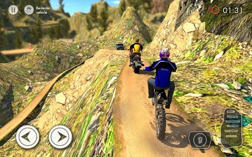 Offroad cyklistický Závodění - náhled