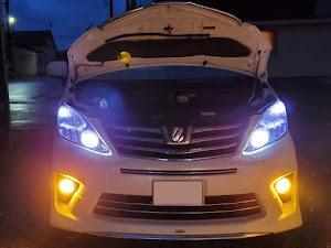 アルファード ANH25W 親車 240S タイプゴールド 4WDのカスタム事例画像 青森県のタイプゴールドさんの2019年06月16日21:21の投稿