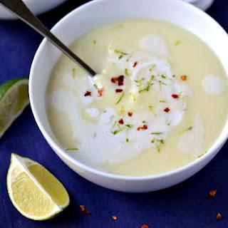 Cauliflower, Coconut & Lime Soup