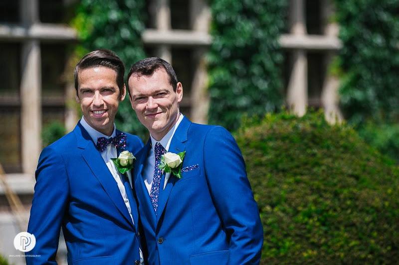 Huwelijk Joris & Thomas - fotocredits Philippe Swiggers