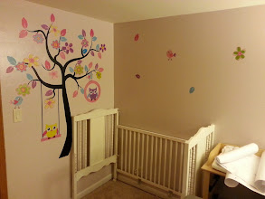 Photo: I really like the decals. It makes the room look nice.