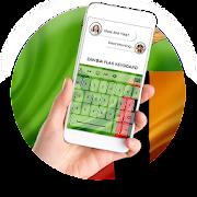 Zambia Flag Keyboard - Elegant Themes