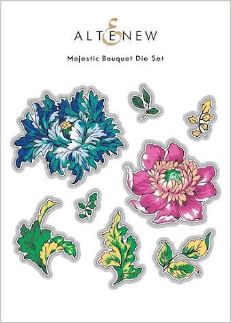 Altenew Die Set - Majestic Bouquet