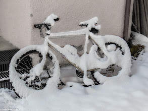 Photo: Bici da neve!
