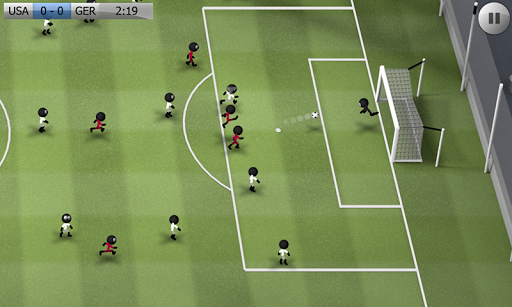 Stickman Soccer screenshot 1