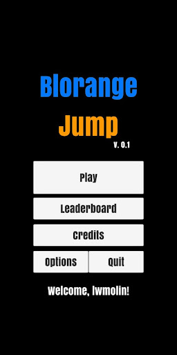 Blorange Jump screenshot 1