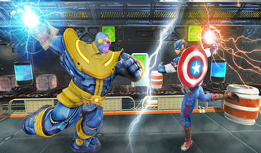 Real Future Superhero Fight-Thanos Battle Mania 3D