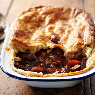 How To Make Steak And Ale Pie.