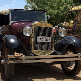 Ford 1929 by Saravanan Veeriah - Transportation Automobiles ( car, product, transportation, ford )