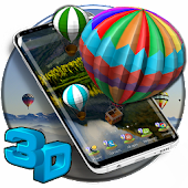 3D Turkey Hot Air Balloon Theme