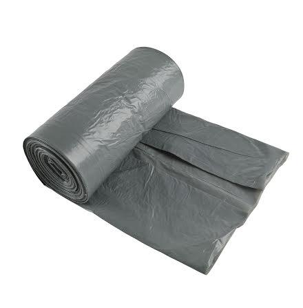 Sopsäck  70L 50my grå 25/rl