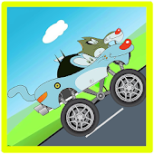 Oggy Road Runner Truck - amazing racing game