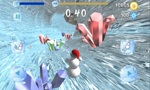 Running Snowman - náhled