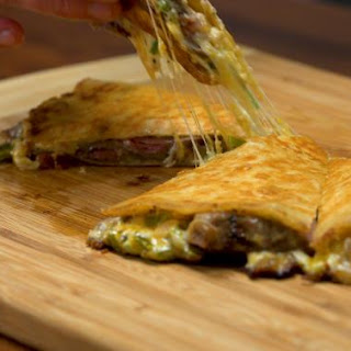 Cheesesteak Quesadilla Recipe