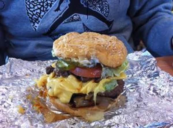 Bbq Grilled Onion Burgers By Freda