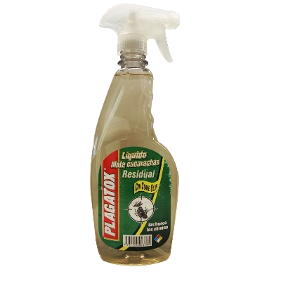 insecticida plagatox liquido mata cucarachas residual 500cc