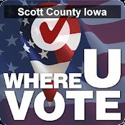 WhereUVote IA - Scott County