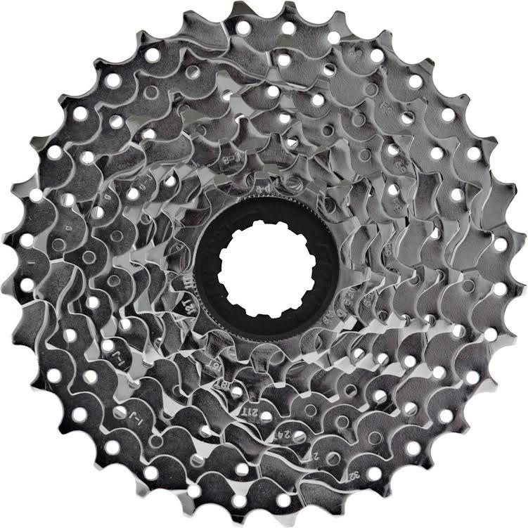 Cassettes, Freewheels & Cogs Sporting Goods Sram Pg-950 9speed 11-32t Cassette Use Shimano Hub Easy To Repair