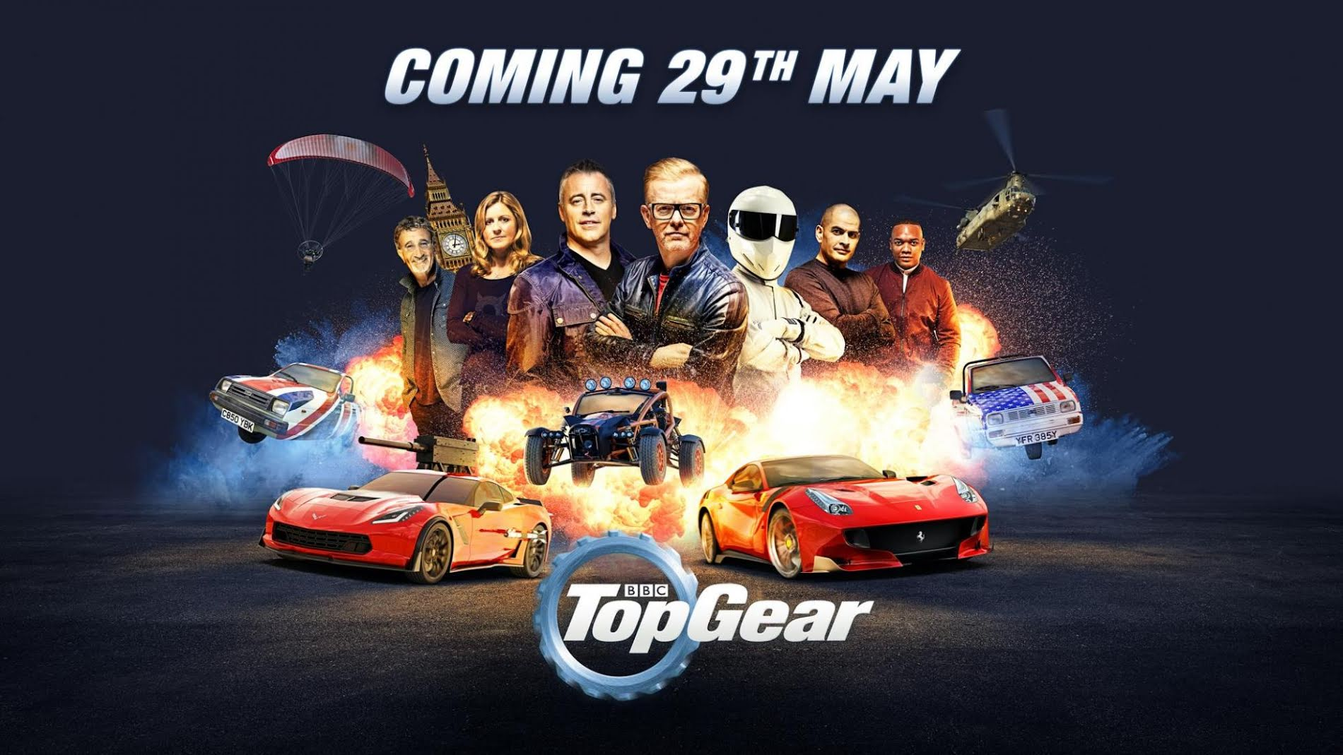 FlySpain Instructor helps kick off New Top Gear show this weekend