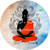 Buddha Lock Screen