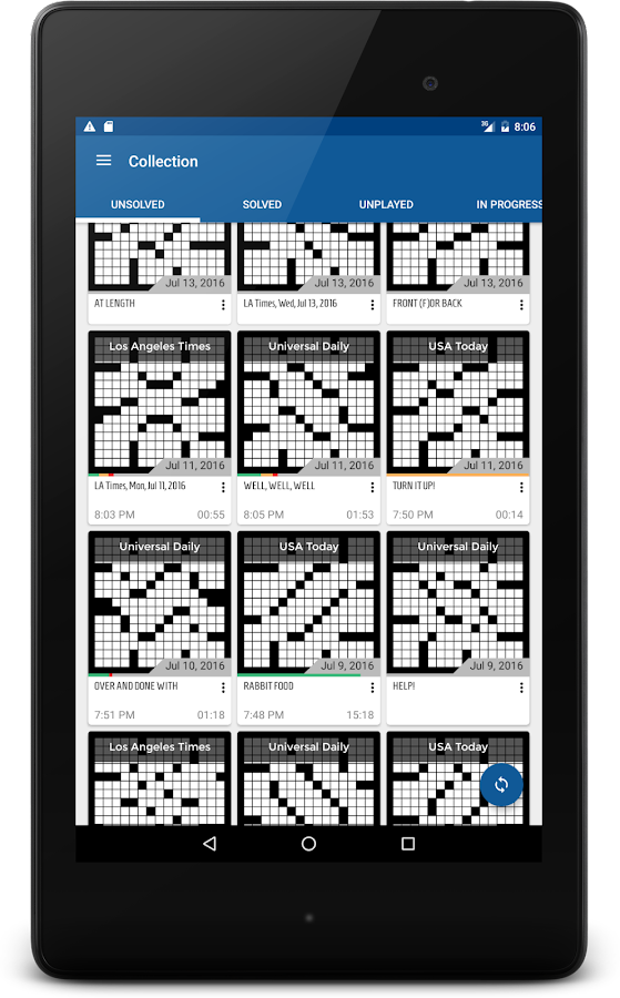 alphacross Crossword- screenshot