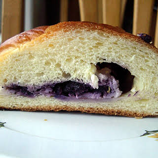 Blueberry Cream Cheese Braid.