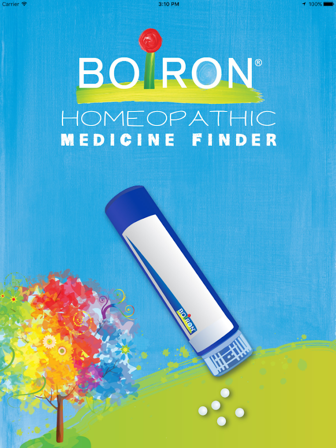 Boiron Medicine Finder- screenshot