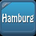 Hamburg Offline Map Guide icon