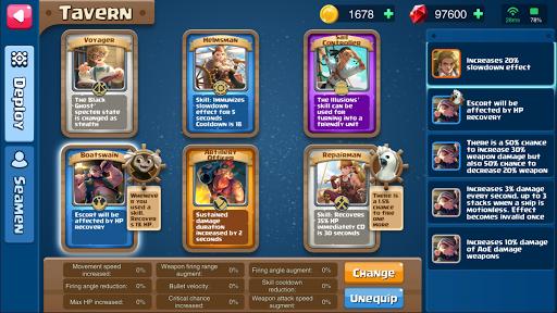 Code Triche Battle Ships - PVP APK MOD screenshots 3