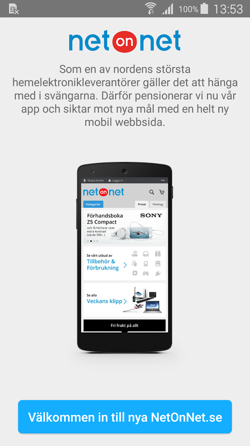 NetOnNet NO- screenshot