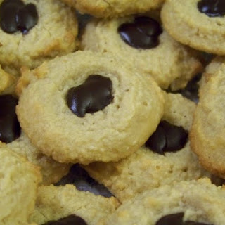 Low Carb Peanut Butter Thumbprint Cookies