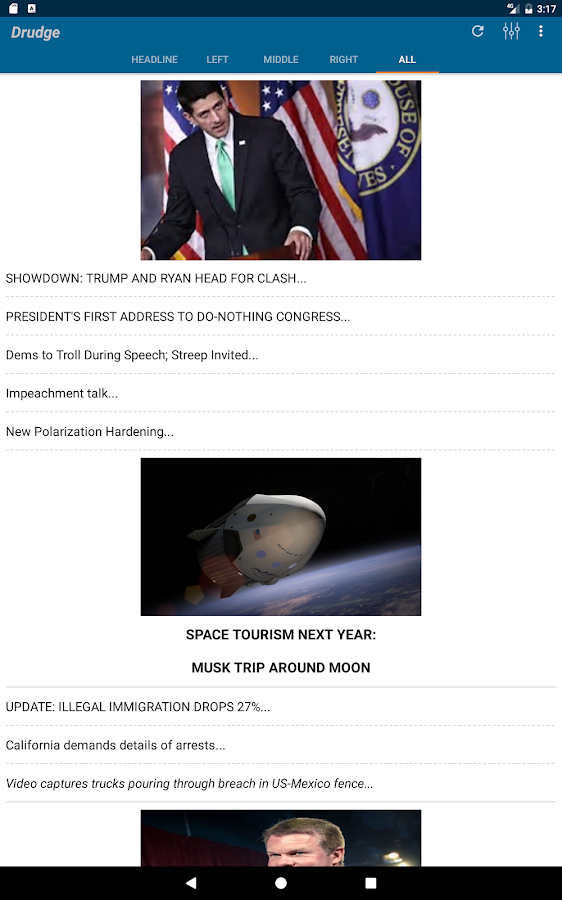 Drudge Report- screenshot