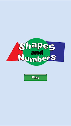 Shapes And Numbers