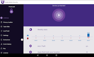 Screenshot of Free Antivirus and Security